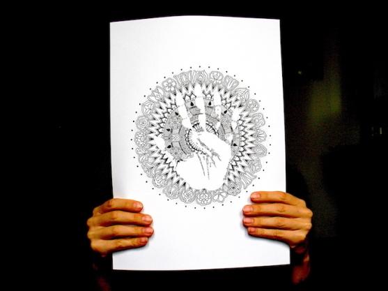 palm print elmenybiologia